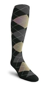 Picture of Over-the Calf Argyle Socks