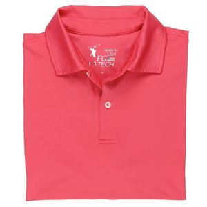 Picture of USA Tournament Solid Tech Jersey Polo
